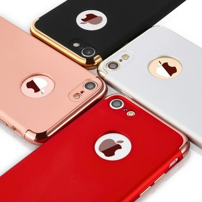 Luxury Aluminum Metal Plating Hybrid Ultrathin 0.9mm iPhone case, CA005 - We Love Apple