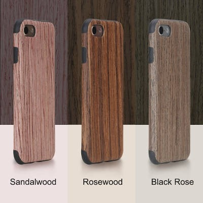 Original Ecology Wood+Soft TPU case for Apple iPhone 7/7 Plus, CA019