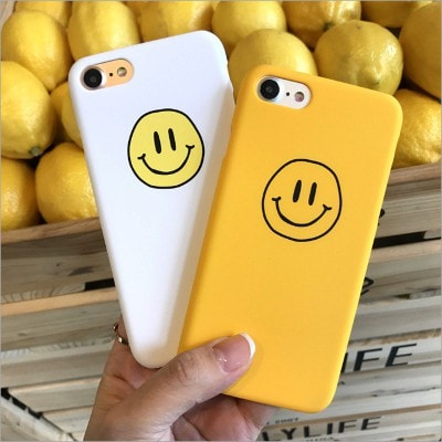 Smile Face Hard iPhone Case, CA043 - We Love Apple