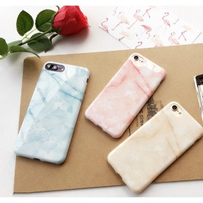 Marble pattern soft TPU iPhone case, CA008 - We Love Apple