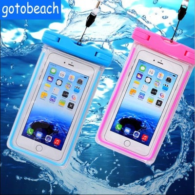 New design waterproof noctilucent underwater case for iPhone 6, 6S, 7 Plus. CA033 - We Love Apple
