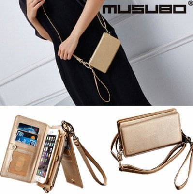 Leather handbag iPhone case, CA023 - We Love Apple