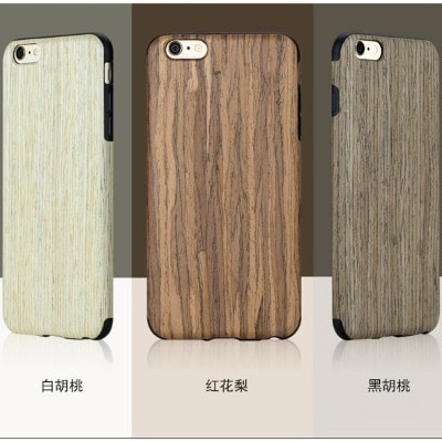 Original Ecology Wood+Soft TPU Case For Apple IPhone 6/6S, iPhone 6 Plus/6S Plus, CA022 - We Love Apple