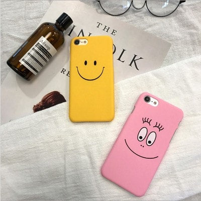 Big smile face funny hard iPhone case , CA046 - We Love Apple