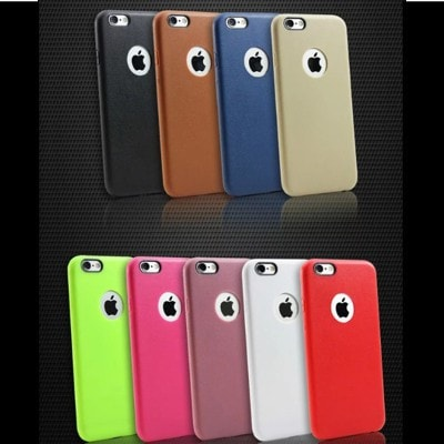 Ultrathin Leather TPU skin texture iPhone case, CA007 - We Love Apple