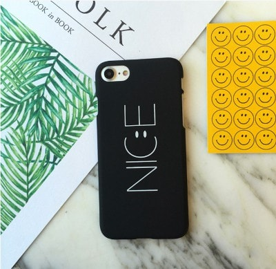 """Nice"", Matte Hard iPhone Case, CA040 - We Love Apple"