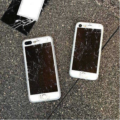 Prank Funny iPhone case, Broken iPhone Screen , CA048