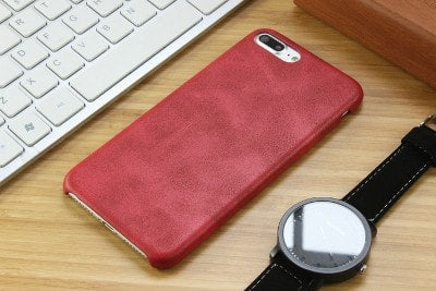 Retro leather texture iPhone case, CA035 - We Love Apple