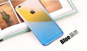 Electroplating Glaze Gradual Change and Multiple Color iPhone Case, CA014 - We Love Apple