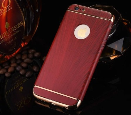 Elegant Vintage Wood Texture Pattern Hard case, CA006 - We Love Apple