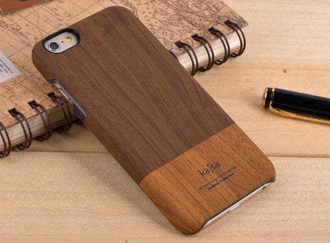 The top design award winner! Kajsa Outdoor Collection Wood Pattern Back Cover For iPhone 6/6S, CA012 - We Love Apple