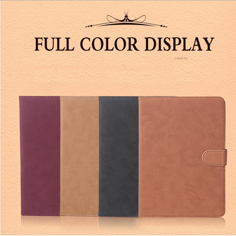 Retro Ultra-thin iPad Case, 4 colors to choose.ipad003 - We Love Apple