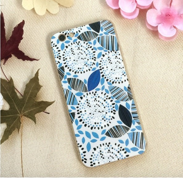 3D Relief Color Painting iPhone Case, CA026-16