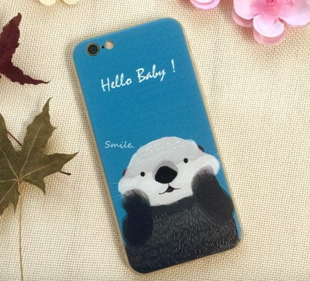 3D Relief Color Painting iPhone Case, Rabbit, CA026-21