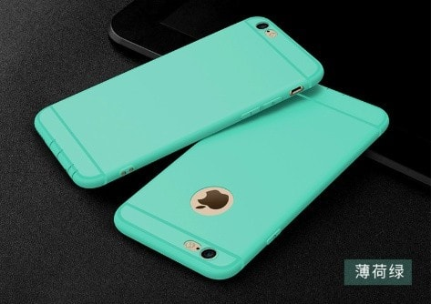 Silicone Matte iPhone case, CA018 - We Love Apple