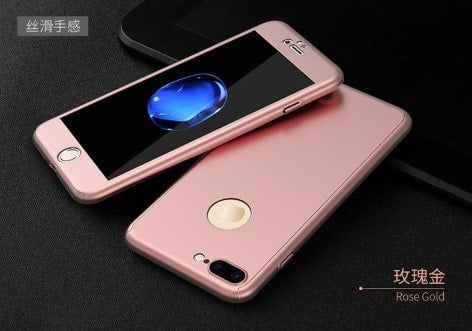 Super-thin matte hard 360 degree protective iPhone case, CA017 - We Love Apple