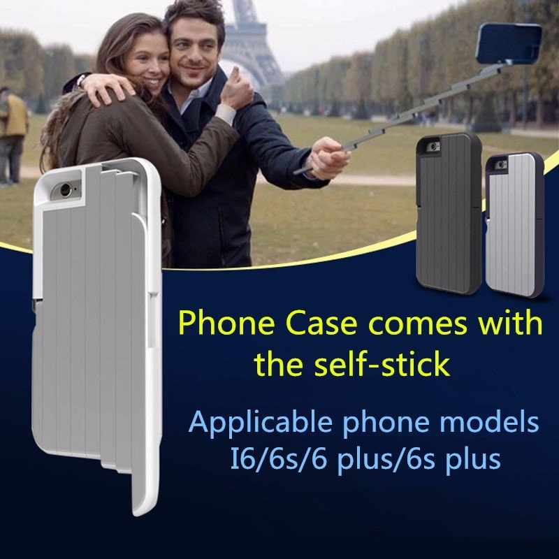 Selfie Stick iPhone Case, Stickbox. CA029 - We Love Apple
