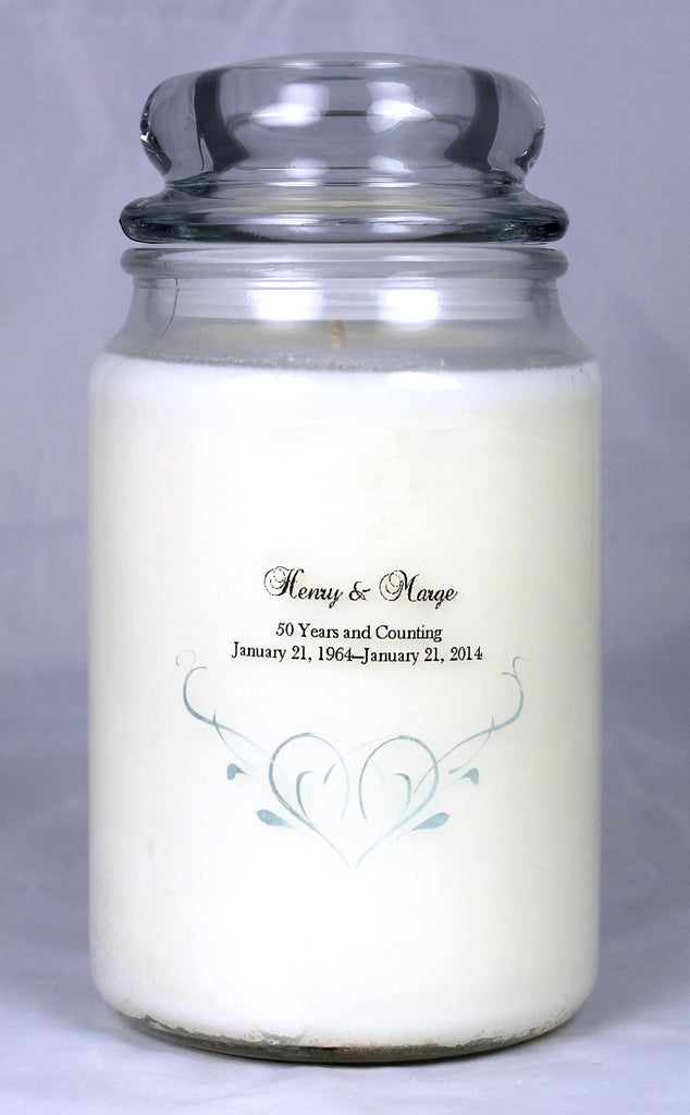 Customizable Anniversary Candle (2)
