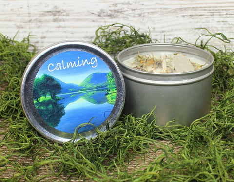 Calming Herbal Candle