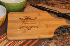 Personalized Handle Cutting Board
