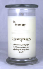 In Memory Candle Template 1
