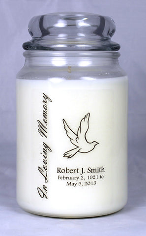 In Memory Candle Template 2