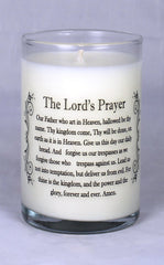 Lord's Prayer Candle