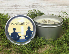 Meditation Herbal Candle