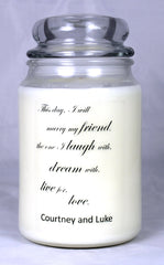 Customizable Wedding Candle (1)