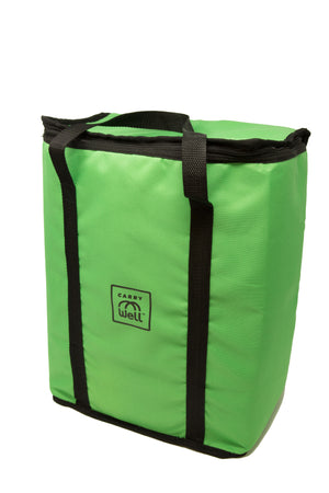 XL Premium Insulated Reusable Freezer Bag Lime Green