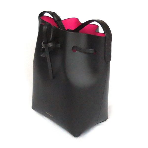 Mansur Gavriel Mini Bucket Bag Pink Interior