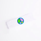 Pastel Peace Sign Headband
