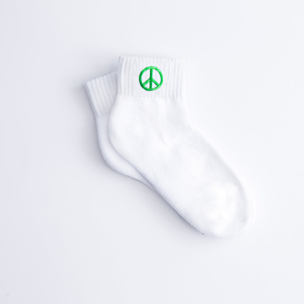 Peace Sign Socks