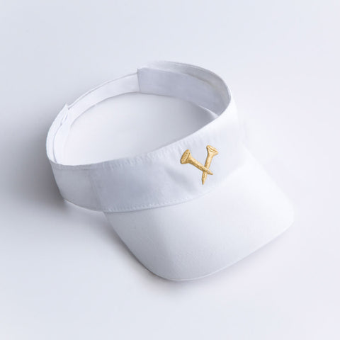 Metallic Crossed Racket Wristband