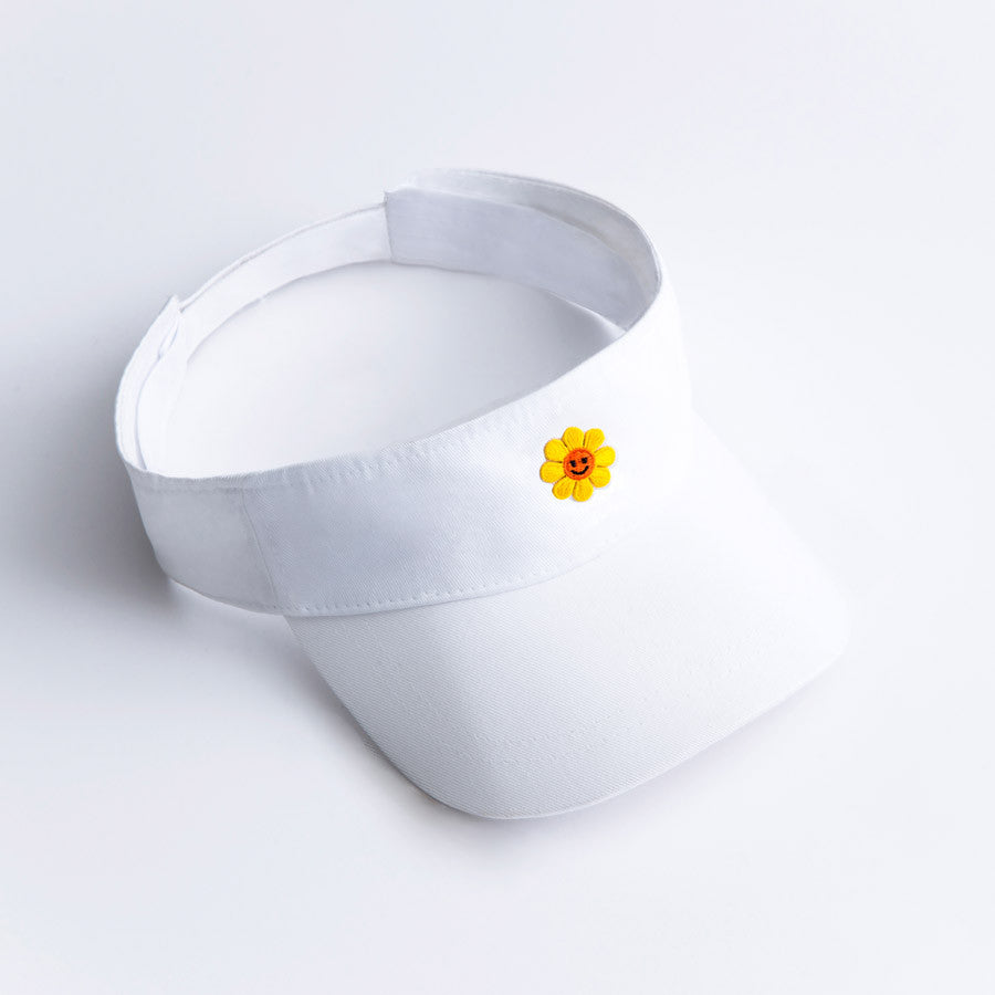 Happy Face Daisy Visor
