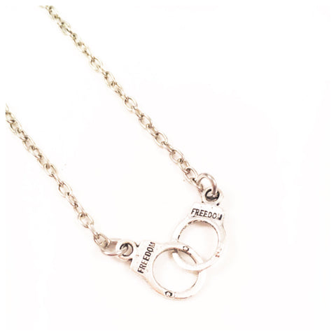 Freedom Handcuff Necklace