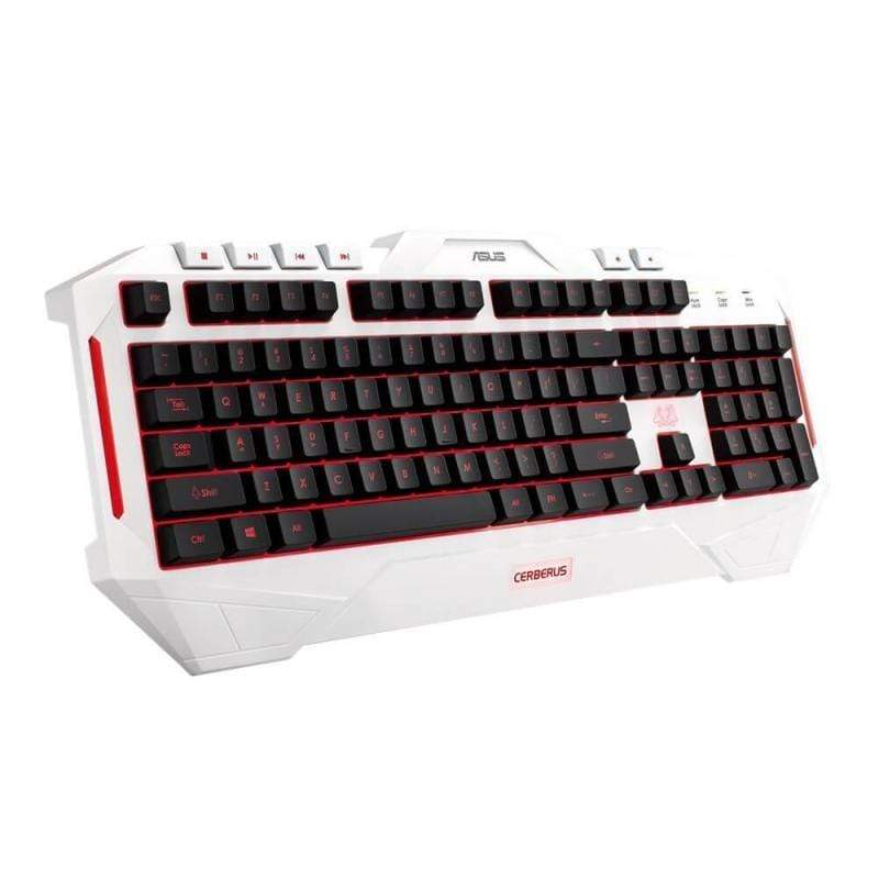 Asus Cerberus Arctic Multi-color backlit USB gaming Keyboard
