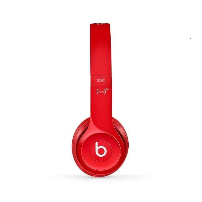 Beats Solo2 On-Ear Headphones-Red
