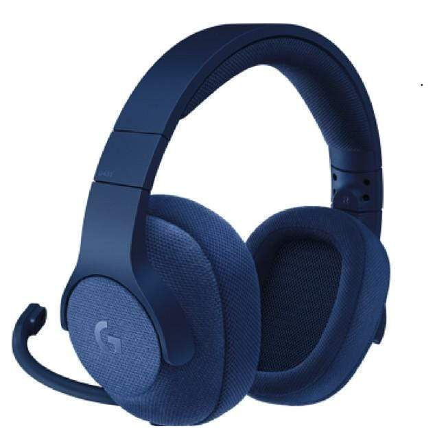 Logitech G433 7.1 Wired Surround Gaming Headset- Blue