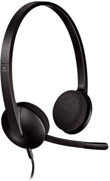 Logitech H340 USB Headset for PC and Mac, Black