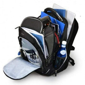 "Port Designed Melbourne Backpack 15"" 17"" BK Backpack - (170400)"