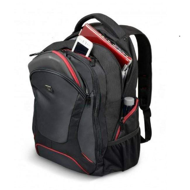 Port Designs Courchevel 15.6 Inch Laptop Backpack - Black