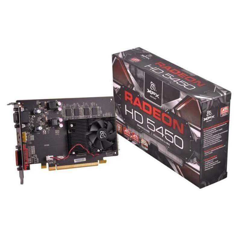 Radeon XFX HD5450 1GB 64-Bit DDR3 PCIe Graphics Card
