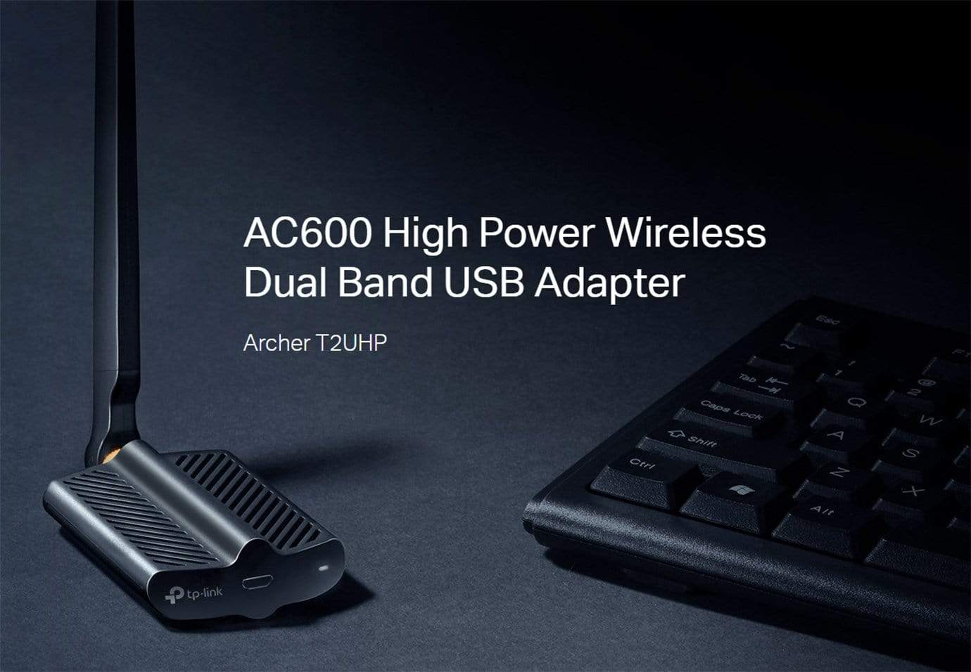 Archer T2UHP AC600 High Power Wireless Dual Band USB Adapter