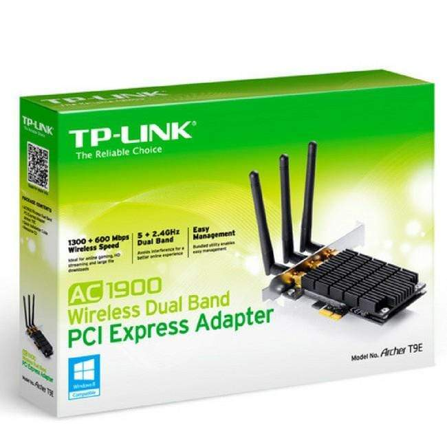 Tp-Link AC1900 Wireless Dual Band PCI Express Adapter Archer T9E