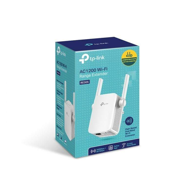 TP-Link RE305-AC1200 Wi-Fi Range Extender Connects to your Router