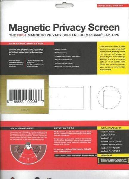 "Magnetic Privacy Screen - Apple MacBookPro 13"" Mid 2016"