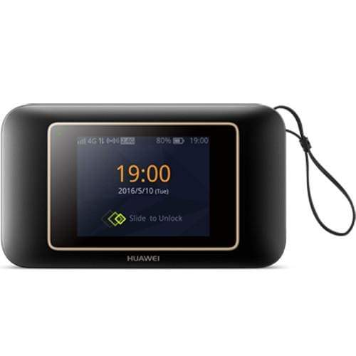Huawei Router 4G touch E5787 speed 300 M/s -Black Color