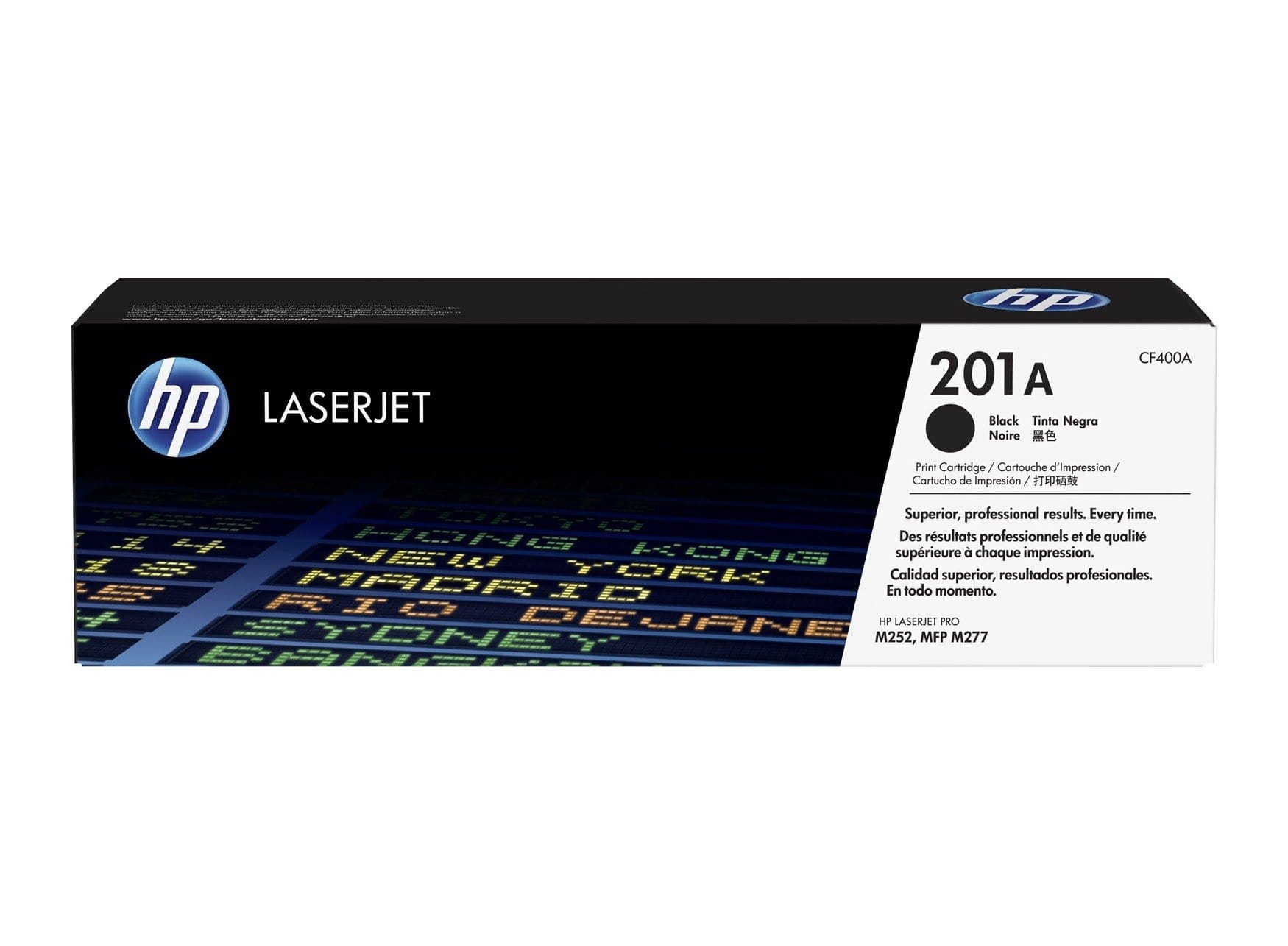 HP 201A Laserjet Toner Cartridge - Black, CF400A