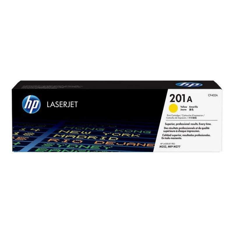 HP 201A Laserjet Toner Cartridge - Yellow, CF402A